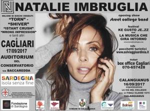 NATALIE IMBRUGLIA                                     KE Gusto Je..zz feat La Musica che Gira Intorno 2017