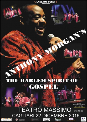 ANTHONY MORGAN  INSPIRATIONAL CHOIR OF HARLEM / The Harlem Spirit of Gospel of Gospel
