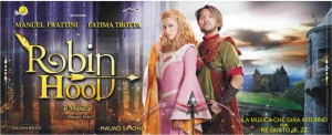 ROBIN HOOD il musical  con Manuel Frattini